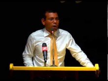President Nasheed's Speech, Addu City (Feydhoo) MDP Rally