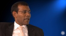 Prseident Nasheed on Climate Justice – Interview with IBA
