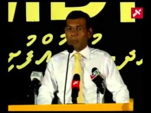 President Nasheed's Speech in Ha. Dhidhoo